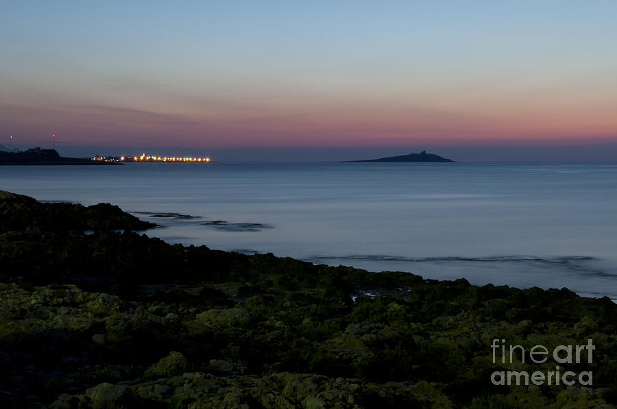 Island Photograph - Sunset Island by Francesco Zappala