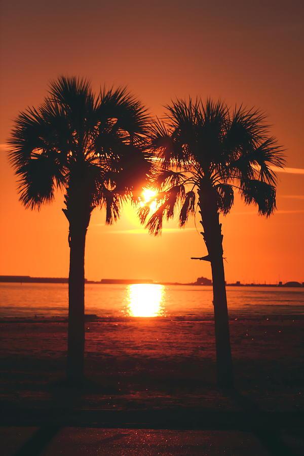 Biloxi Photograph - Sunset by Jennifer Burley