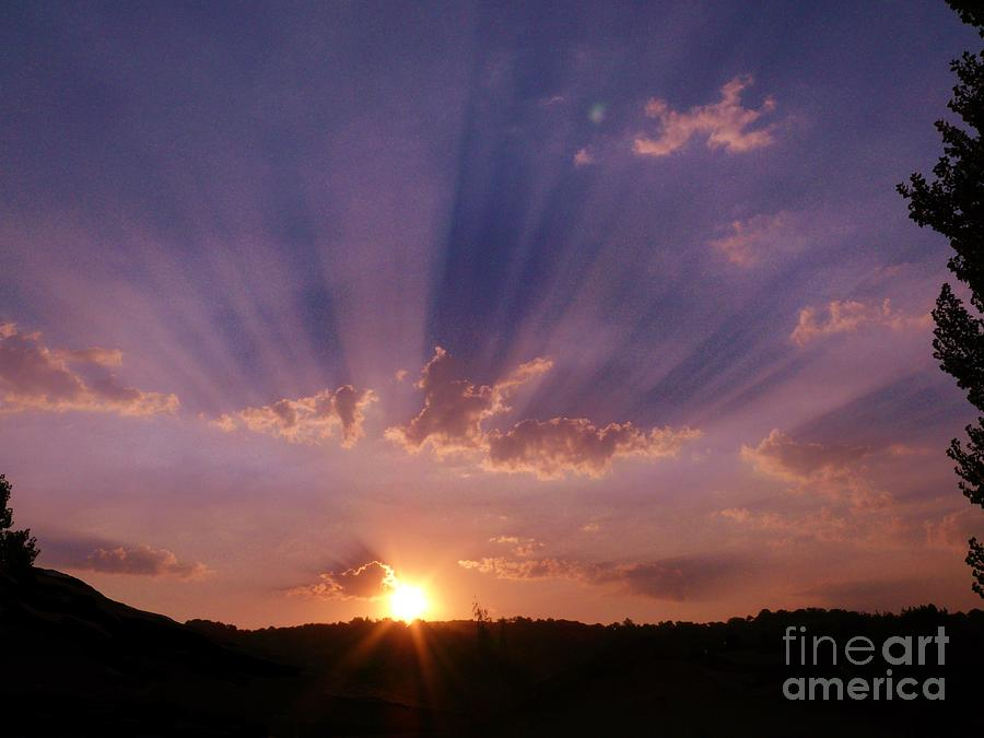 Sunset Photos Photograph - Sunset Of Dreams by Jacquelyn Roberts