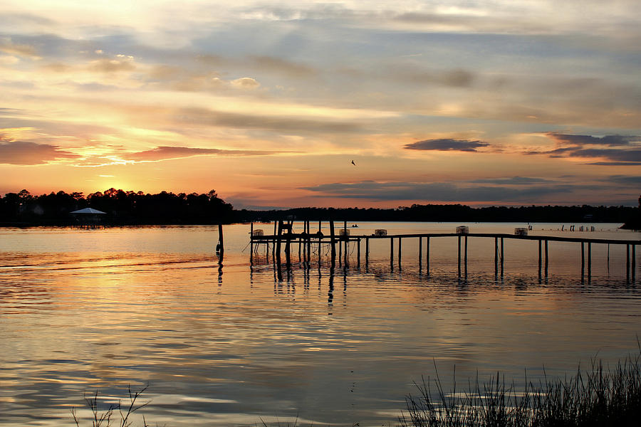 Sunset On Oyster Bay Photograph  - Sunset On Oyster Bay Fine Art Print