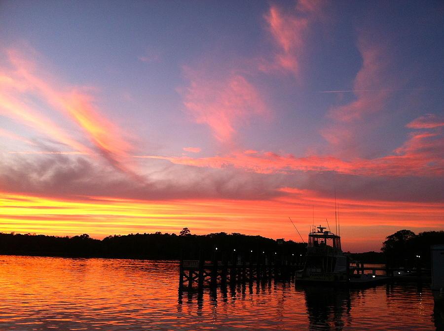 Sunset On The Intercoastal Photograph