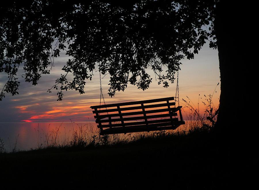 Sunset On The Lake Photograph