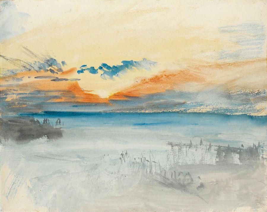 Jmw Turner Water Painting