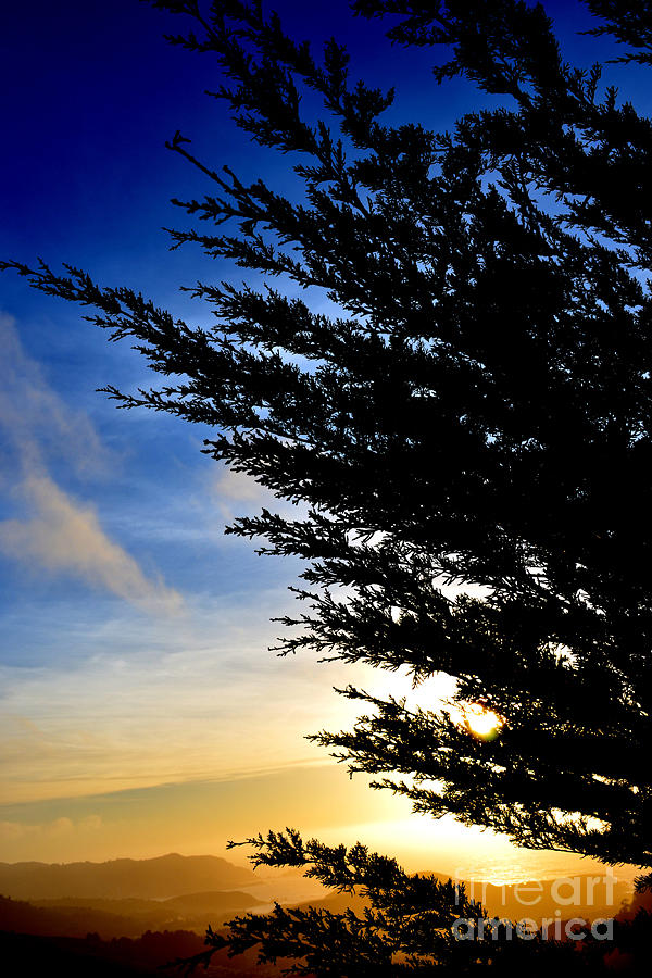 Sunset Overlooking Pacifica Ca Iv Photograph