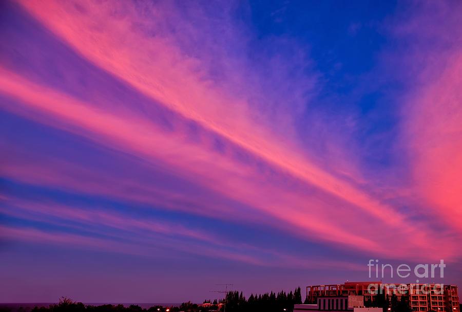 Sunset Rays Photograph
