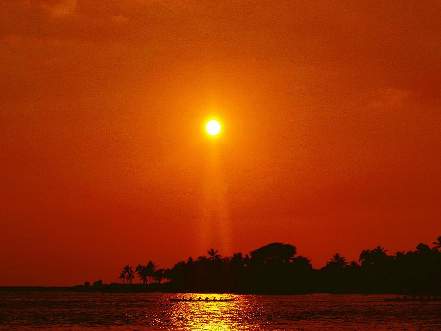 Sunset Ride Photograph