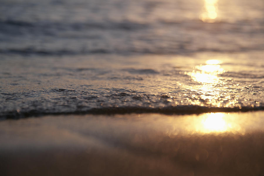 Sunset Shore Photograph