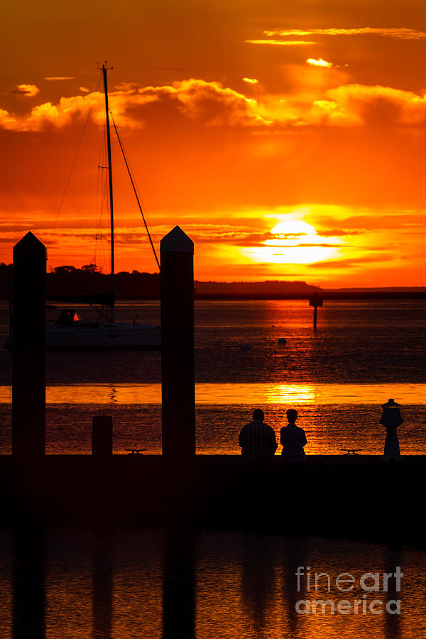Sunset Soul Mates Photograph  - Sunset Soul Mates Fine Art Print