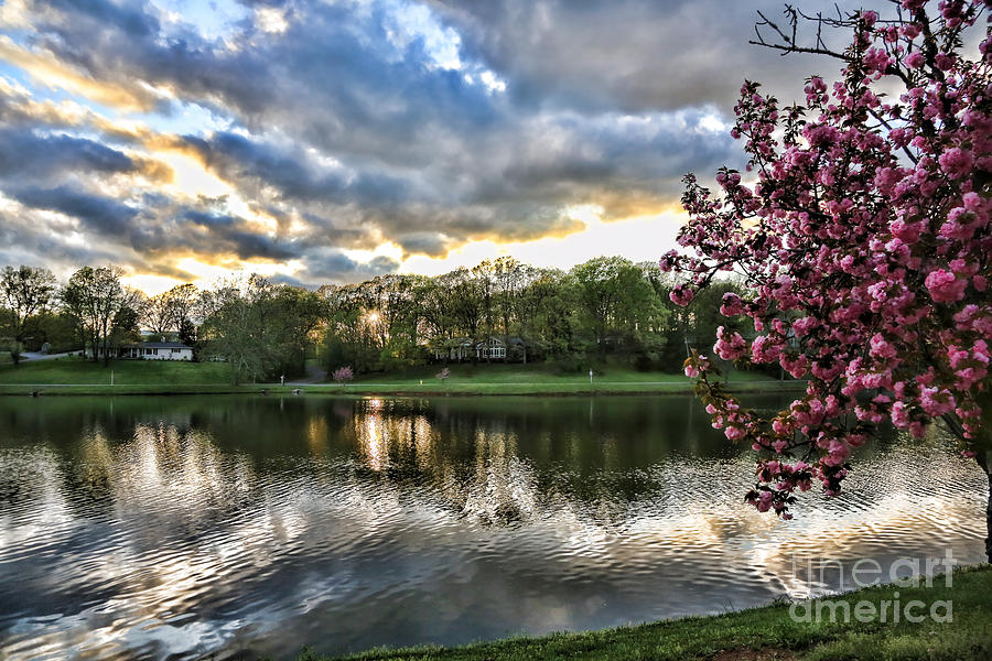 Tennessee Photograph - Sunset Southern  by Chuck Kuhn
