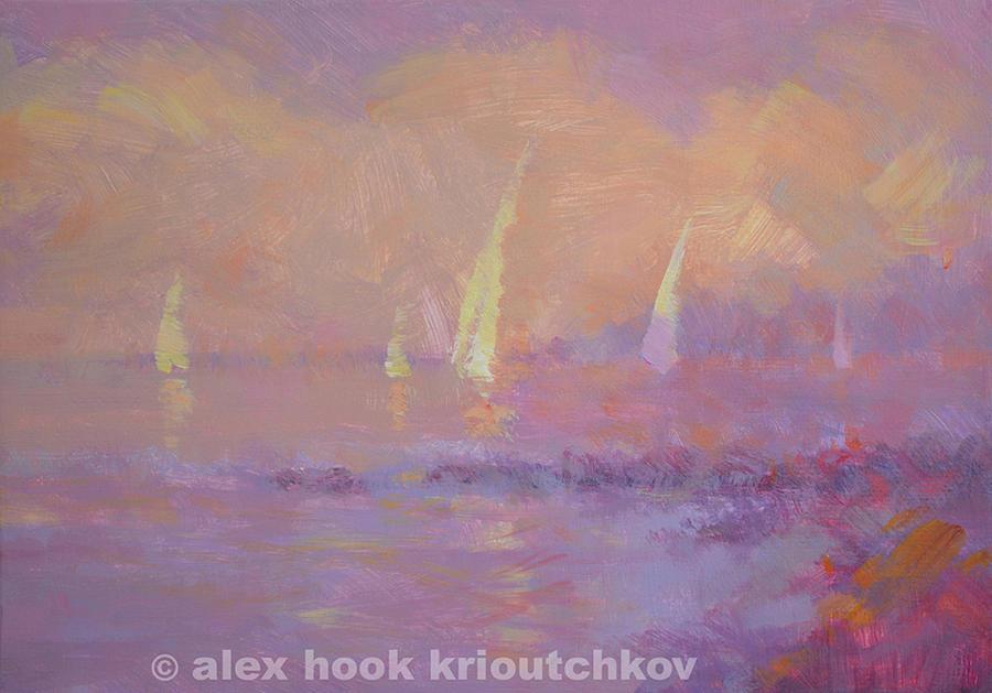 Sunset V Painting