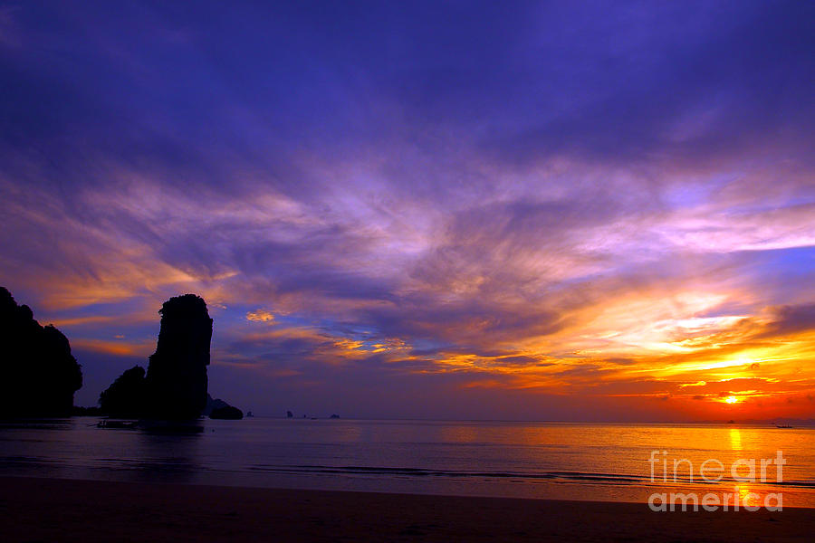 Sunsets And Beaches Photograph