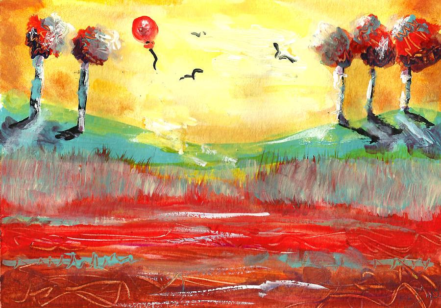 Sunshine Happiness Painting