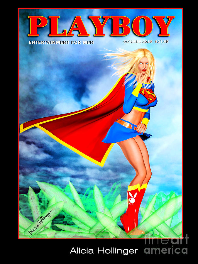 Supergirl Mixed Media - Supergirl 2085 by Alicia Hollinger
