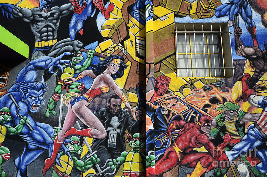 Superhero Wall Art Albuquerque Photograph