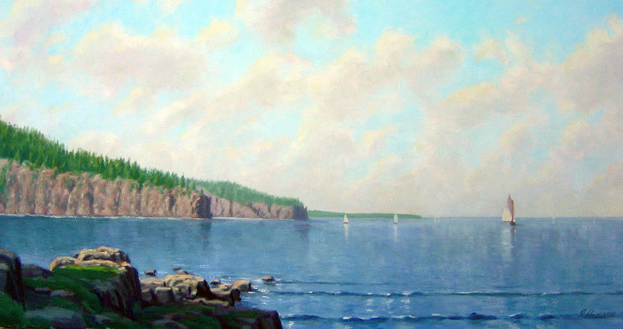 Superior View Painting  - Superior View Fine Art Print