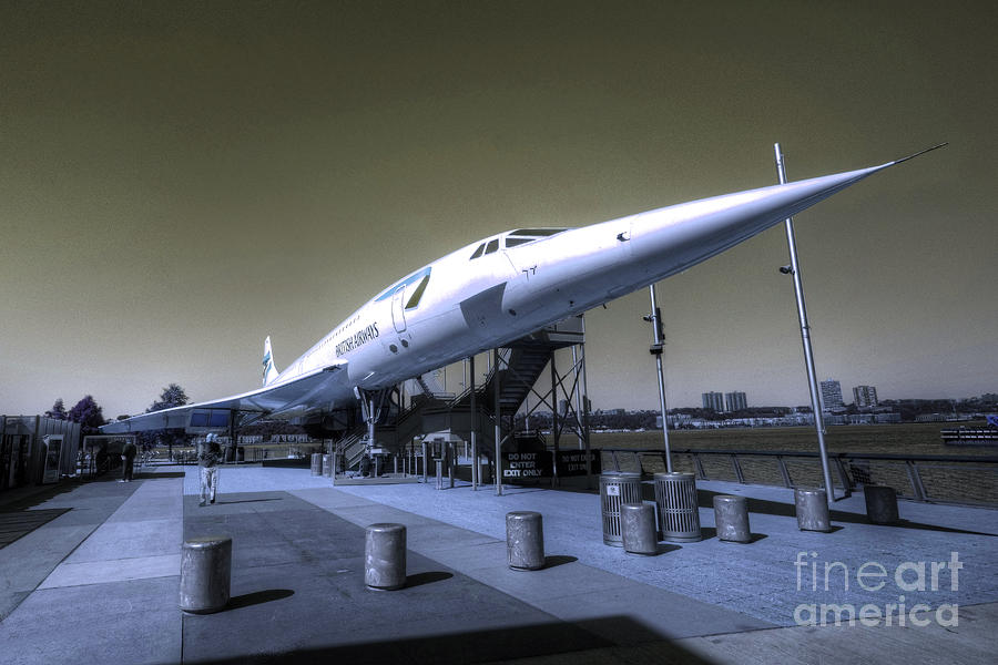 Concord Photograph - Supersonic  by Rob Hawkins