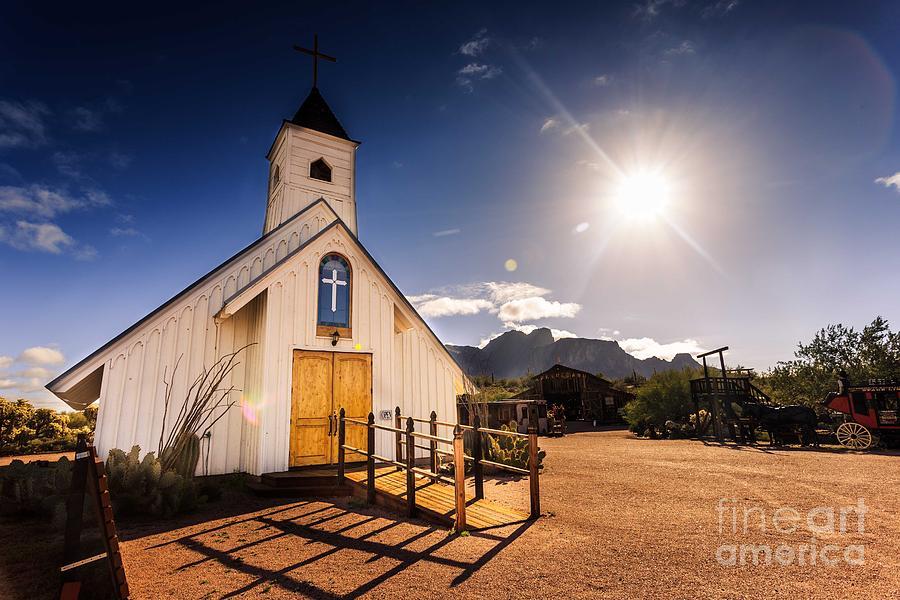 Superstition Prayer Photograph