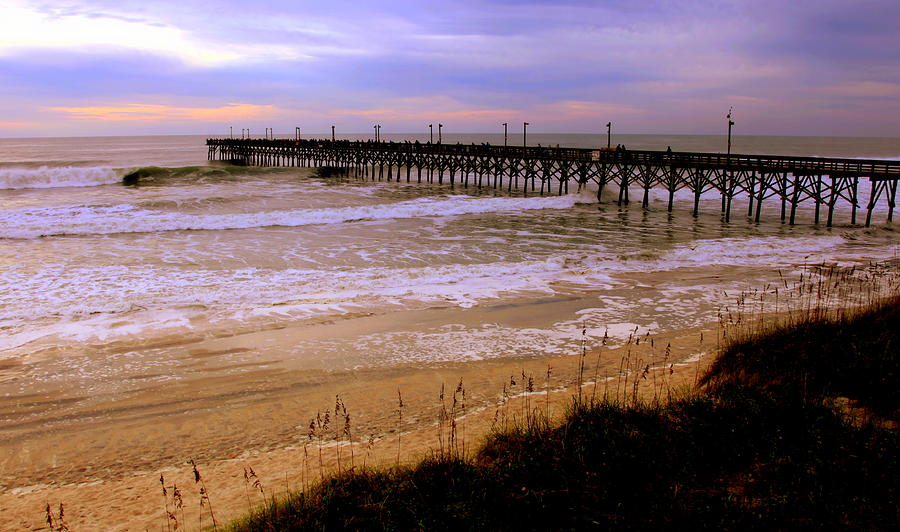 Surf City Pier Photograph  - Surf City Pier Fine Art Print