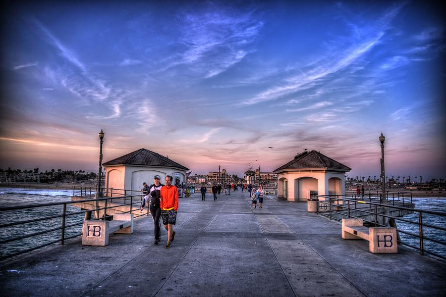 Surf City Pier Photograph