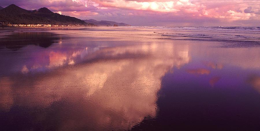 Surf Relection Photograph