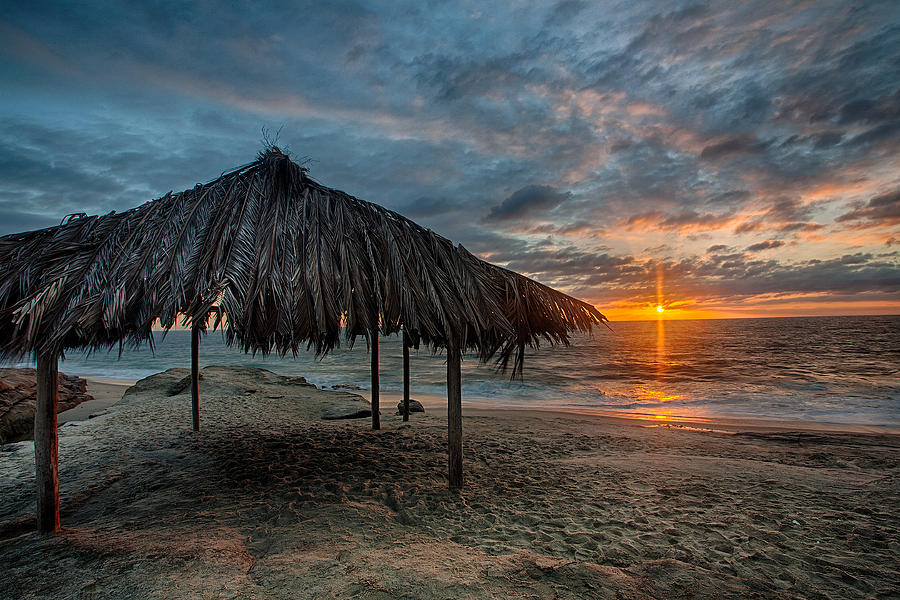 Surf Shack Sunset Photograph  - Surf Shack Sunset Fine Art Print