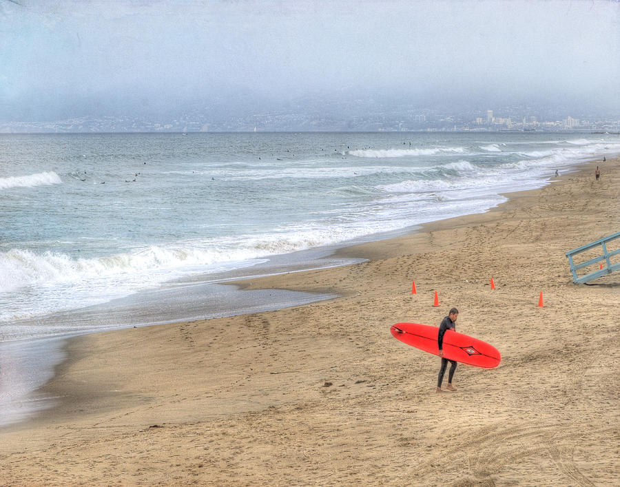 Surfer Photograph - Surfer Boy by Juli Scalzi