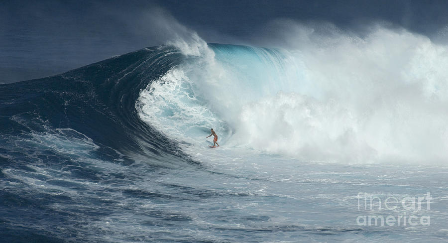 Surfing With Giants is a photograph by Bob Christopher which was ...
