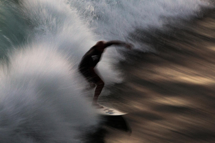 Surfing Photograph - Surge by John Daly