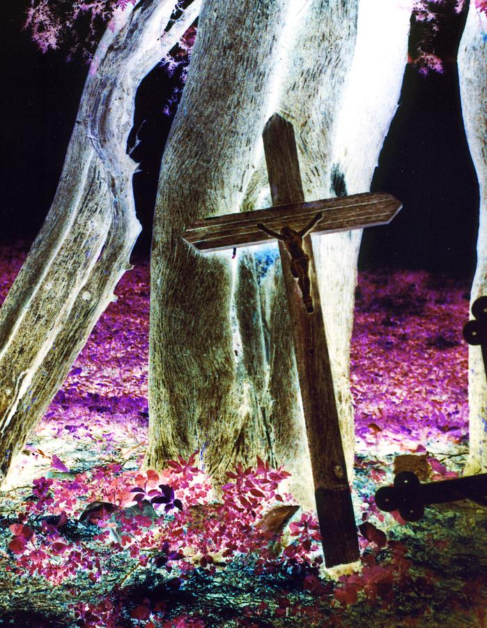 Surreal Crucifixion Photograph