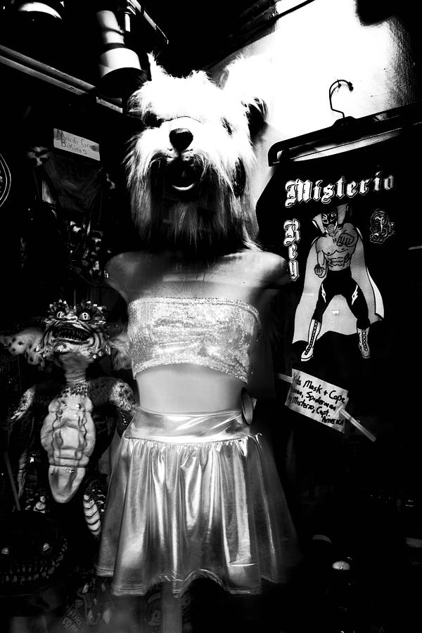 New Orleans Photograph - Surreal Nightmare Shop Window In New Orleans by Louis Maistros