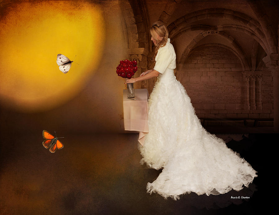 Surreal Wedding Photograph  - Surreal Wedding Fine Art Print