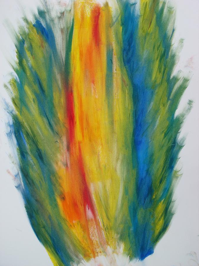 Surround Flame Digital Art