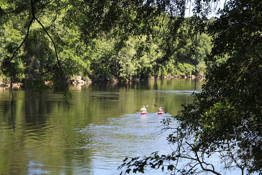Suwanee River Kayakers Photograph