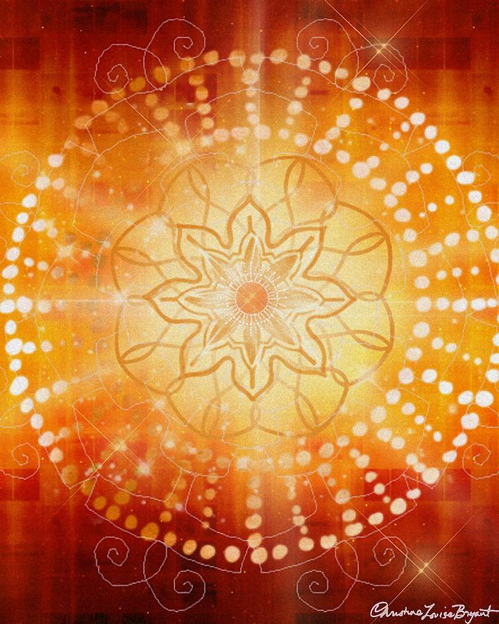 Svadishthana - Chakra 2 Digital Art