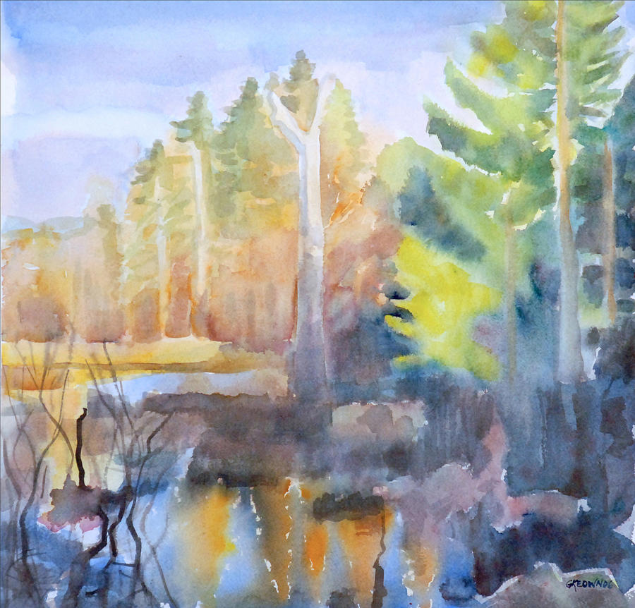 Swamp Color Painting