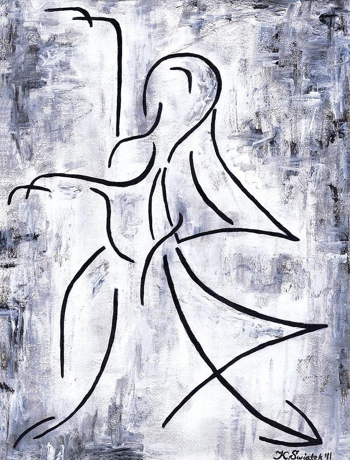 Dancer Painting - Swan Lake by Kamil Swiatek