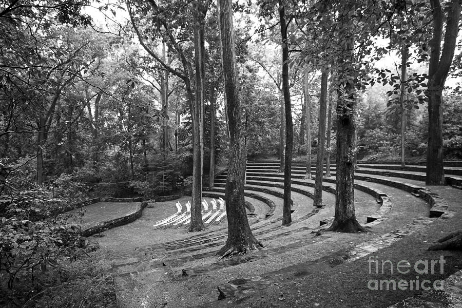 Swarthmore College Amphitheater Photograph  - Swarthmore College Amphitheater Fine Art Print