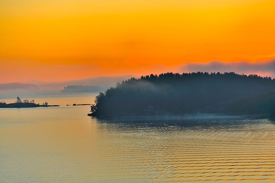 Swedish Sunrise Photograph  - Swedish Sunrise Fine Art Print