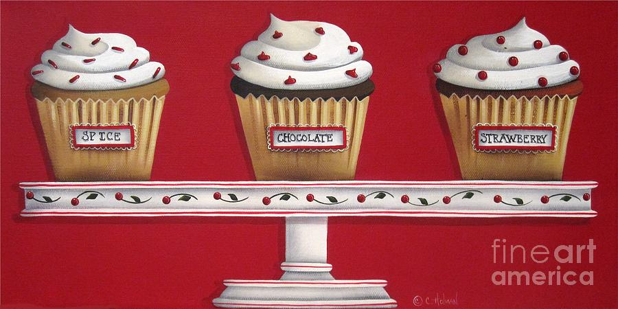 Sweet Delights Painting  - Sweet Delights Fine Art Print
