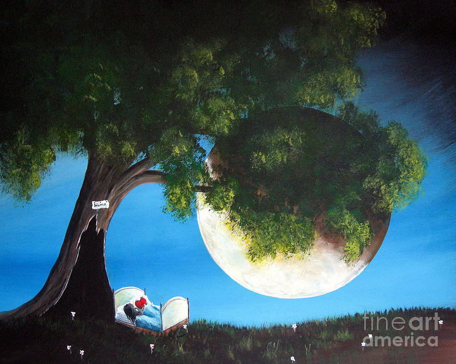 Sweet Dreams By Shawna Erback Painting