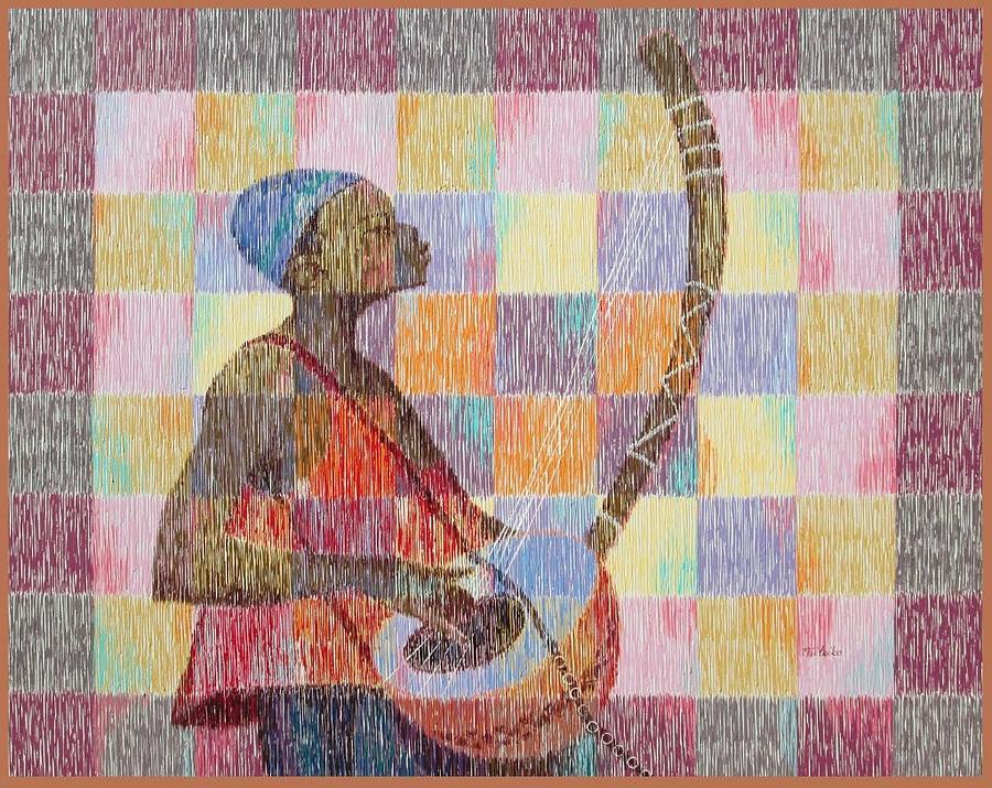 Landscape Painting - Sweet Melody by Aryeetey Desmond Nii Teiko