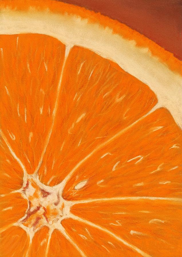 Sweet Orange Painting  - Sweet Orange Fine Art Print