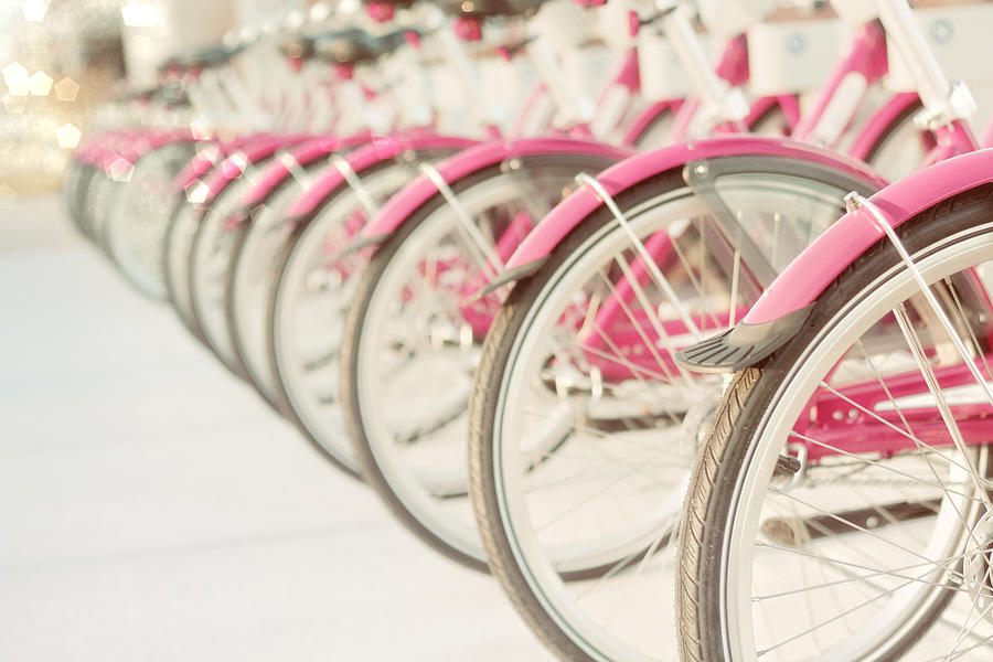 Bicycle Photography Photograph - Sweet Rides by Amy Tyler