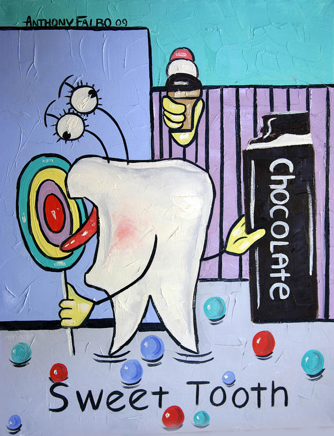 Sweet Tooth Painting