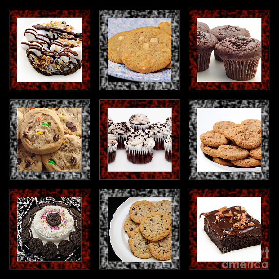 Sweets For The Sweet Tic Tac Toe 2 Photograph  - Sweets For The Sweet Tic Tac Toe 2 Fine Art Print