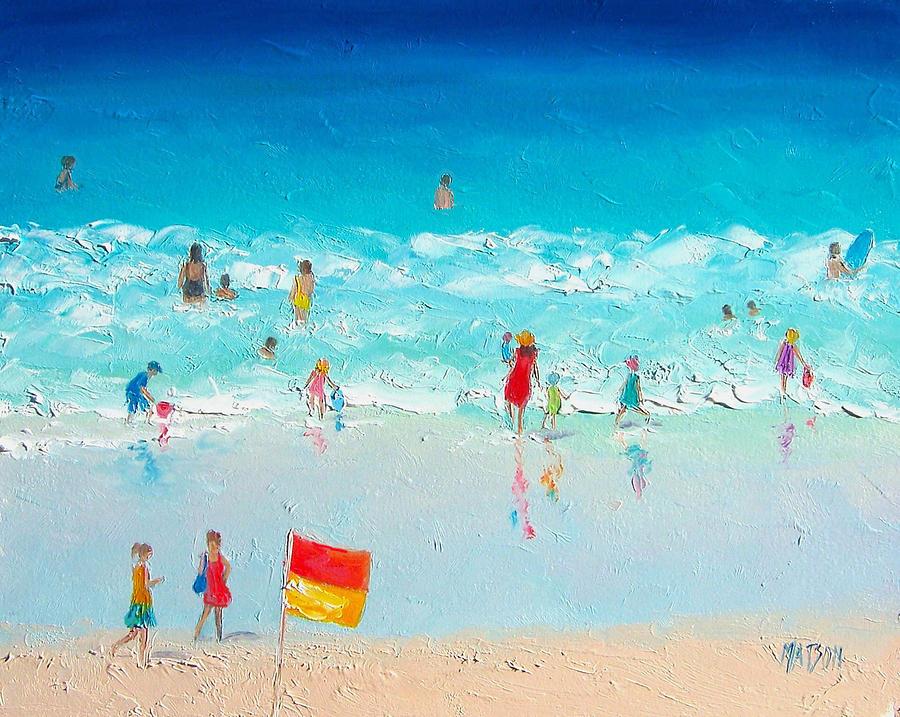 Swim Day Painting