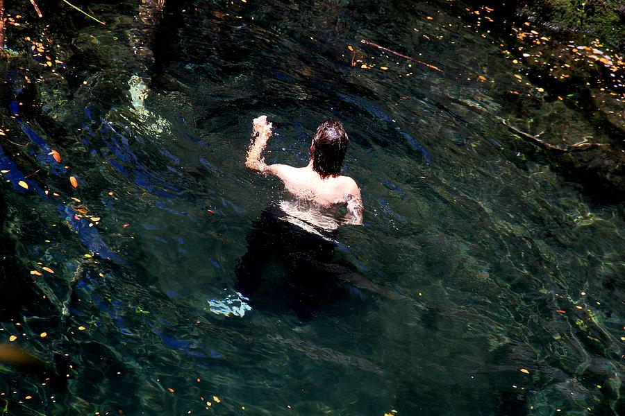 Swimmer Photograph