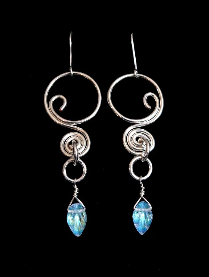 Swirl With Leaves 139 Jewelry