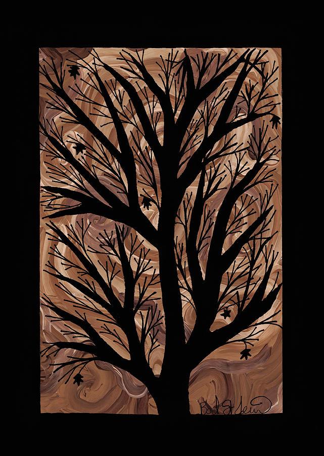 Swirling Sugar Maple Painting - Swirling Sugar Maple by Barbara St Jean