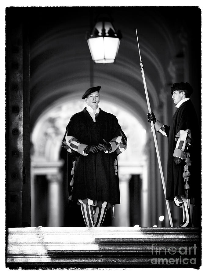 Swiss Guards Photograph